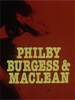 Burgess, MacLean and Philby